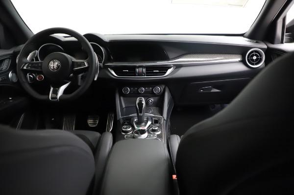 New 2021 Alfa Romeo Stelvio Quadrifoglio for sale $90,450 at Pagani of Greenwich in Greenwich CT 06830 16
