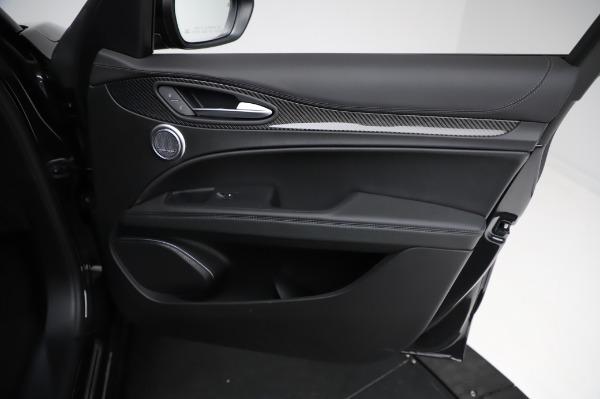 New 2021 Alfa Romeo Stelvio Quadrifoglio for sale $90,450 at Pagani of Greenwich in Greenwich CT 06830 24
