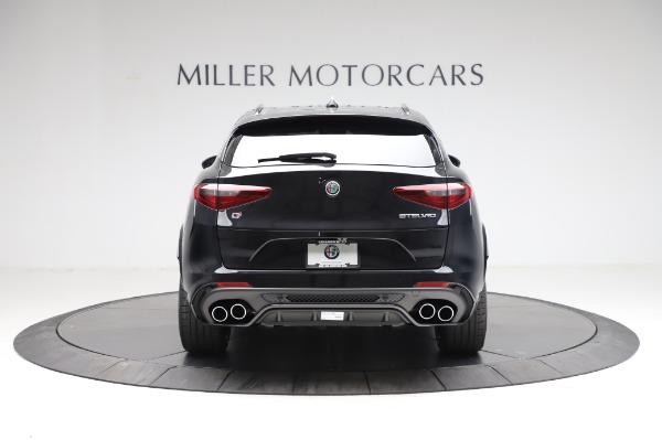 New 2021 Alfa Romeo Stelvio Quadrifoglio for sale $90,450 at Pagani of Greenwich in Greenwich CT 06830 6