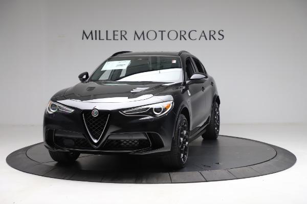 New 2021 Alfa Romeo Stelvio Quadrifoglio for sale $90,450 at Pagani of Greenwich in Greenwich CT 06830 1