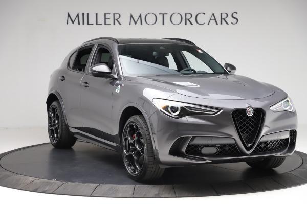 New 2021 Alfa Romeo Stelvio Quadrifoglio for sale $91,750 at Pagani of Greenwich in Greenwich CT 06830 11