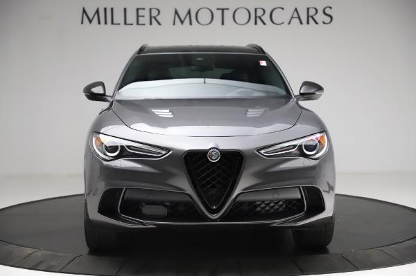 New 2021 Alfa Romeo Stelvio Quadrifoglio for sale $91,750 at Pagani of Greenwich in Greenwich CT 06830 12