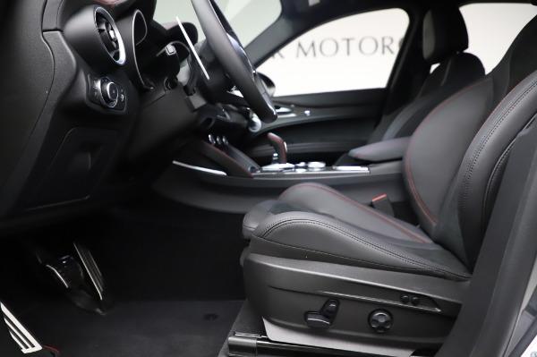New 2021 Alfa Romeo Stelvio Quadrifoglio for sale $91,750 at Pagani of Greenwich in Greenwich CT 06830 14