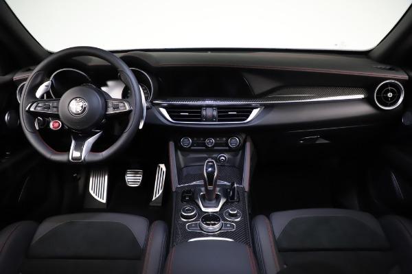New 2021 Alfa Romeo Stelvio Quadrifoglio for sale $91,750 at Pagani of Greenwich in Greenwich CT 06830 16