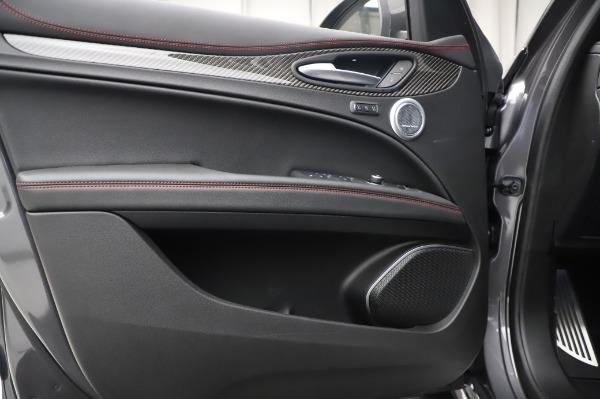 New 2021 Alfa Romeo Stelvio Quadrifoglio for sale $91,750 at Pagani of Greenwich in Greenwich CT 06830 17