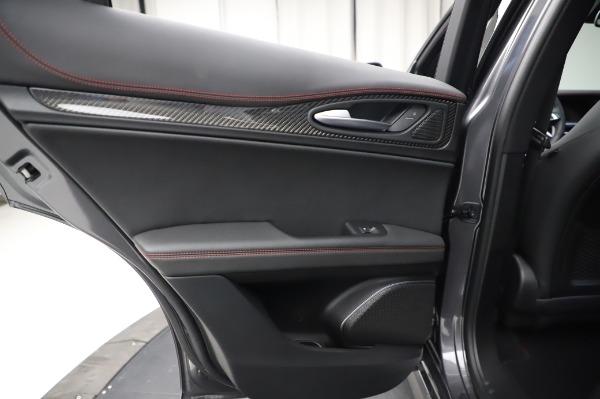 New 2021 Alfa Romeo Stelvio Quadrifoglio for sale $91,750 at Pagani of Greenwich in Greenwich CT 06830 21