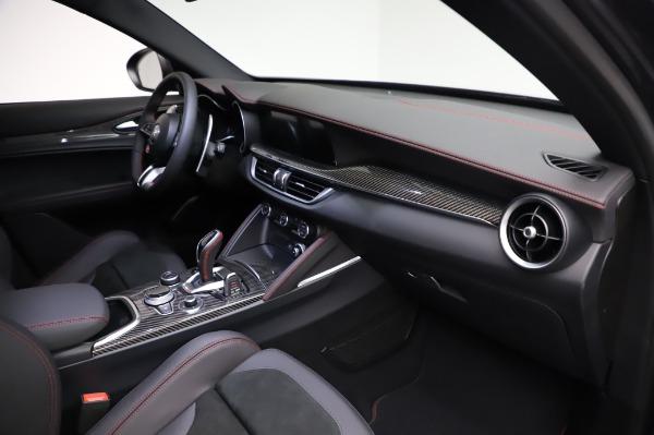 New 2021 Alfa Romeo Stelvio Quadrifoglio for sale $91,750 at Pagani of Greenwich in Greenwich CT 06830 22