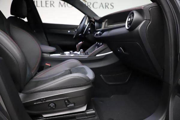 New 2021 Alfa Romeo Stelvio Quadrifoglio for sale $91,750 at Pagani of Greenwich in Greenwich CT 06830 23
