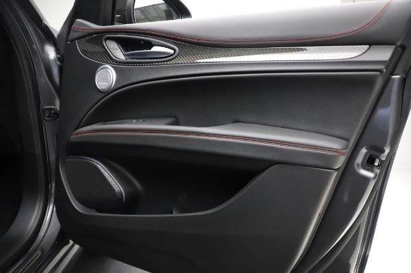 New 2021 Alfa Romeo Stelvio Quadrifoglio for sale $91,750 at Pagani of Greenwich in Greenwich CT 06830 25