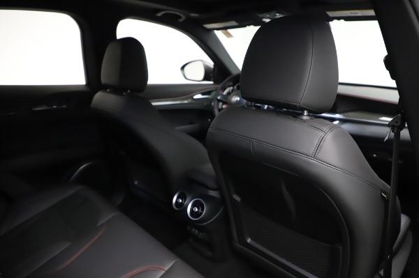 New 2021 Alfa Romeo Stelvio Quadrifoglio for sale $91,750 at Pagani of Greenwich in Greenwich CT 06830 28