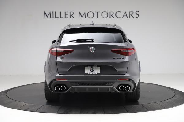 New 2021 Alfa Romeo Stelvio Quadrifoglio for sale $91,750 at Pagani of Greenwich in Greenwich CT 06830 6