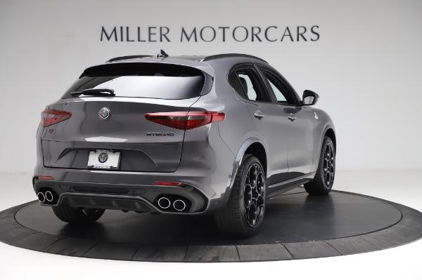 New 2021 Alfa Romeo Stelvio Quadrifoglio for sale $91,750 at Pagani of Greenwich in Greenwich CT 06830 7