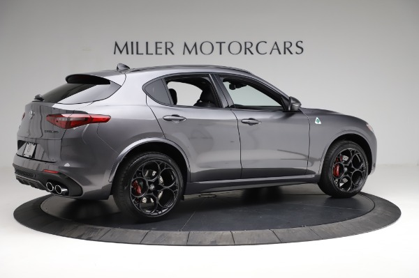 New 2021 Alfa Romeo Stelvio Quadrifoglio for sale $91,750 at Pagani of Greenwich in Greenwich CT 06830 8