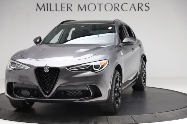 New 2021 Alfa Romeo Stelvio Quadrifoglio for sale $91,750 at Pagani of Greenwich in Greenwich CT 06830 1