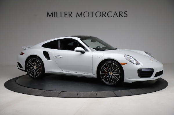 Used 2018 Porsche 911 Turbo for sale $159,990 at Pagani of Greenwich in Greenwich CT 06830 13