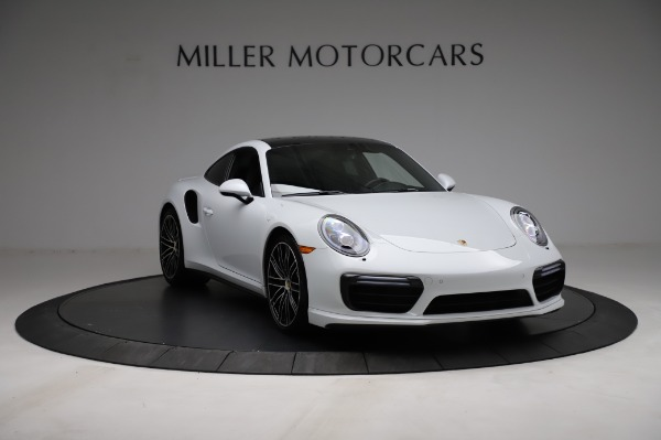 Used 2018 Porsche 911 Turbo for sale $159,990 at Pagani of Greenwich in Greenwich CT 06830 15