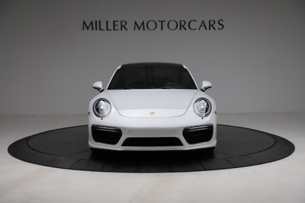 Used 2018 Porsche 911 Turbo for sale $159,990 at Pagani of Greenwich in Greenwich CT 06830 16