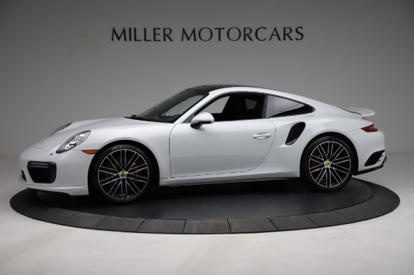 Used 2018 Porsche 911 Turbo for sale $159,990 at Pagani of Greenwich in Greenwich CT 06830 3