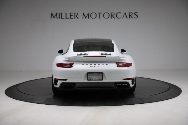 Used 2018 Porsche 911 Turbo for sale $159,990 at Pagani of Greenwich in Greenwich CT 06830 8