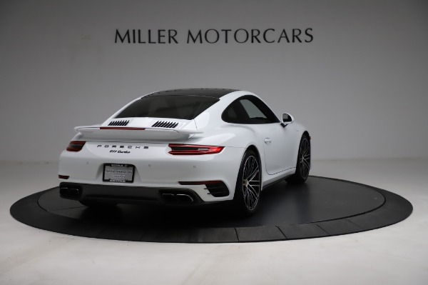 Used 2018 Porsche 911 Turbo for sale $159,990 at Pagani of Greenwich in Greenwich CT 06830 9