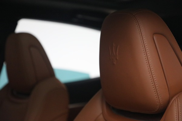 New 2021 Maserati Levante S Q4 GranSport for sale Call for price at Pagani of Greenwich in Greenwich CT 06830 18