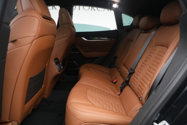 New 2021 Maserati Levante S Q4 GranSport for sale Call for price at Pagani of Greenwich in Greenwich CT 06830 26