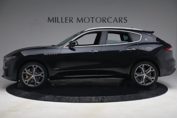 New 2021 Maserati Levante S Q4 GranSport for sale Call for price at Pagani of Greenwich in Greenwich CT 06830 3