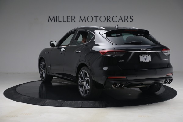 New 2021 Maserati Levante S Q4 GranSport for sale Call for price at Pagani of Greenwich in Greenwich CT 06830 5