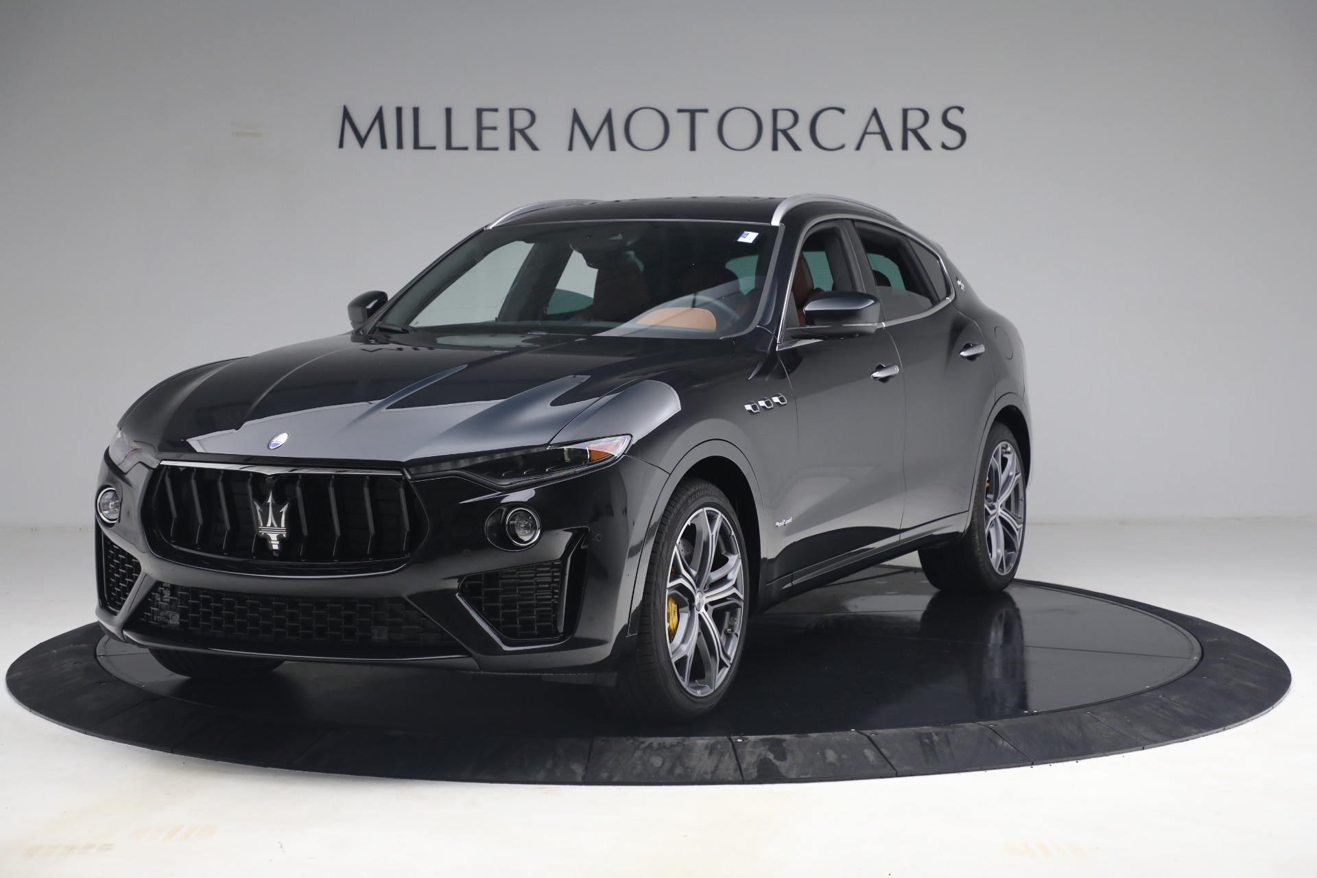 New 2021 Maserati Levante S Q4 GranSport for sale Call for price at Pagani of Greenwich in Greenwich CT 06830 1