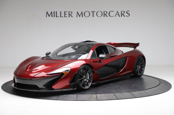 Used 2014 McLaren P1 for sale Sold at Pagani of Greenwich in Greenwich CT 06830 3