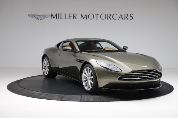 Used 2018 Aston Martin DB11 V8 for sale $151,900 at Pagani of Greenwich in Greenwich CT 06830 10
