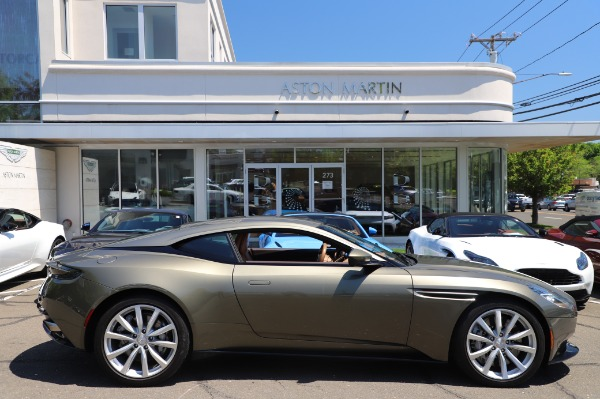 Used 2018 Aston Martin DB11 V8 for sale $151,900 at Pagani of Greenwich in Greenwich CT 06830 22