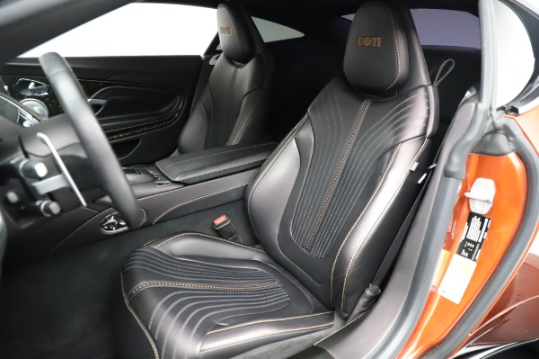 Used 2017 Aston Martin DB11 V12 for sale Call for price at Pagani of Greenwich in Greenwich CT 06830 15