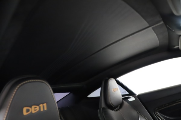 Used 2017 Aston Martin DB11 V12 for sale Call for price at Pagani of Greenwich in Greenwich CT 06830 23