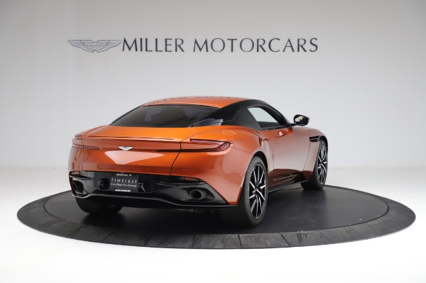 Used 2017 Aston Martin DB11 V12 for sale Call for price at Pagani of Greenwich in Greenwich CT 06830 6