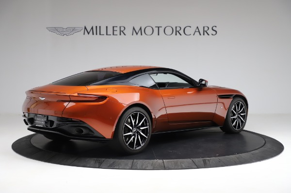 Used 2017 Aston Martin DB11 V12 for sale Call for price at Pagani of Greenwich in Greenwich CT 06830 7