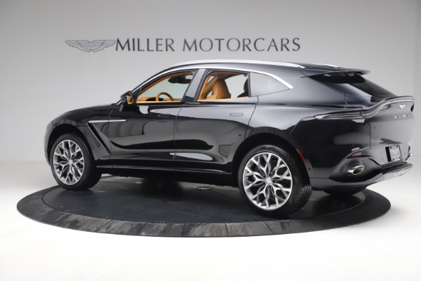 New 2021 Aston Martin DBX for sale $207,886 at Pagani of Greenwich in Greenwich CT 06830 3