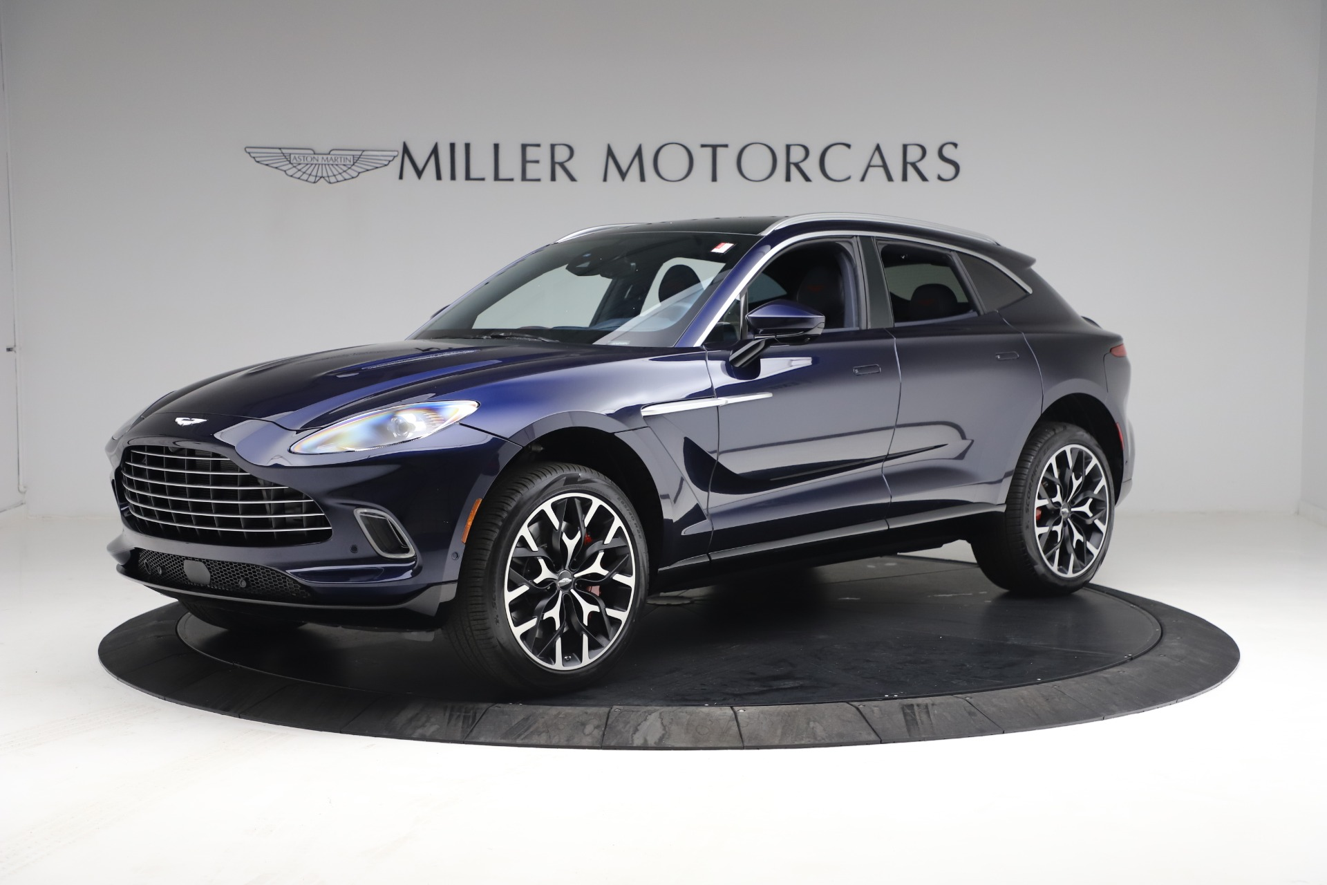 New 2021 Aston Martin DBX for sale $213,086 at Pagani of Greenwich in Greenwich CT 06830 1