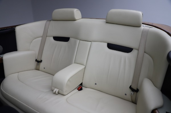 Used 2009 Rolls-Royce Phantom Drophead Coupe for sale $219,900 at Pagani of Greenwich in Greenwich CT 06830 23