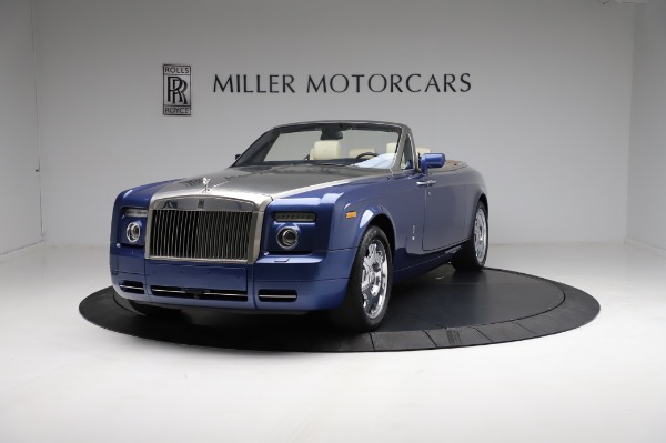 Used 2009 Rolls-Royce Phantom Drophead Coupe for sale $219,900 at Pagani of Greenwich in Greenwich CT 06830 1