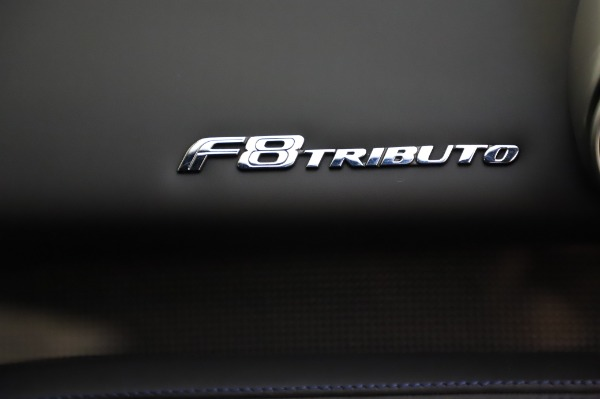 Used 2020 Ferrari F8 Tributo for sale $349,900 at Pagani of Greenwich in Greenwich CT 06830 21
