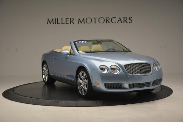Used 2007 Bentley Continental GTC for sale Sold at Pagani of Greenwich in Greenwich CT 06830 10
