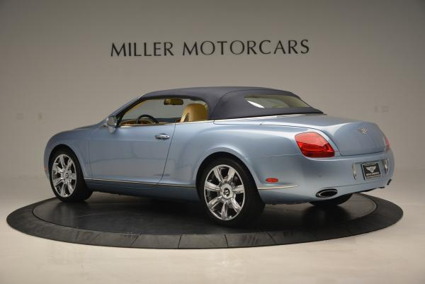 Used 2007 Bentley Continental GTC for sale Sold at Pagani of Greenwich in Greenwich CT 06830 16