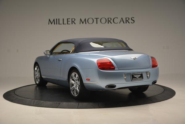 Used 2007 Bentley Continental GTC for sale Sold at Pagani of Greenwich in Greenwich CT 06830 17