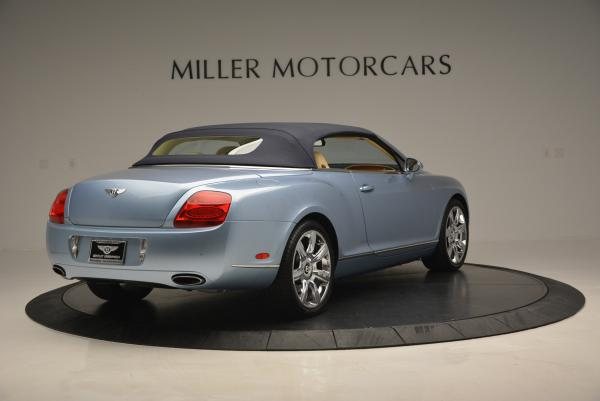 Used 2007 Bentley Continental GTC for sale Sold at Pagani of Greenwich in Greenwich CT 06830 19