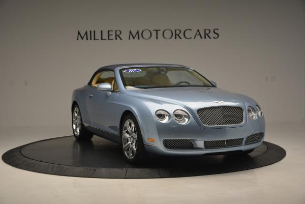 Used 2007 Bentley Continental GTC for sale Sold at Pagani of Greenwich in Greenwich CT 06830 23