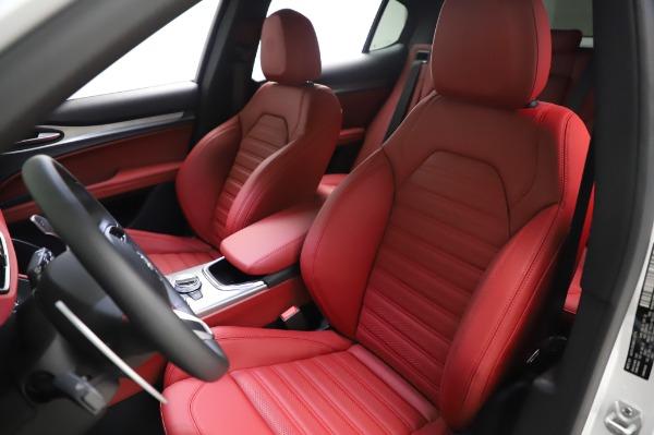 New 2021 Alfa Romeo Stelvio Ti Sport Q4 for sale $56,240 at Pagani of Greenwich in Greenwich CT 06830 15