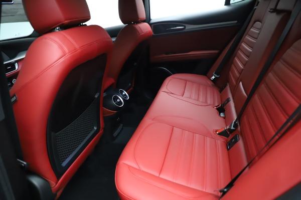 New 2021 Alfa Romeo Stelvio Ti Sport Q4 for sale $56,240 at Pagani of Greenwich in Greenwich CT 06830 19
