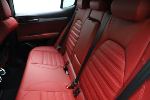 New 2021 Alfa Romeo Stelvio Ti Sport Q4 for sale $56,240 at Pagani of Greenwich in Greenwich CT 06830 20