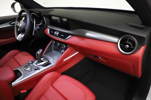 New 2021 Alfa Romeo Stelvio Ti Sport Q4 for sale $56,240 at Pagani of Greenwich in Greenwich CT 06830 22